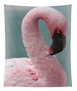 Dreamy Pink Flamingo Tapestry