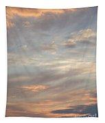 Dreamy Sunset Sky Tapestry
