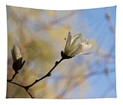 Dreamy Wild Magnolia In The Forest Tapestry