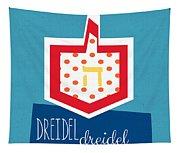 Dreidels Tapestry