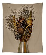 Dried Flowers Tapestry