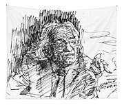 Drtero Agolli Albanian Writer Tapestry