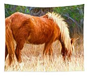 Dry Marsh Grasses Tapestry