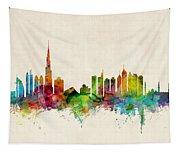 Dubai Skyline Tapestry