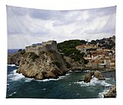 Dubrovnik In Focus Tapestry