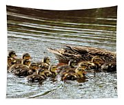 Duck Family Tapestry