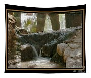 Duck In Pond Tapestry
