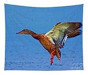 Duck Landing Tapestry