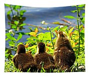 Ducklings Tapestry