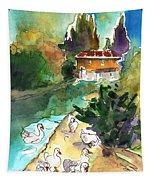 Ducks In Avila 01 Tapestry