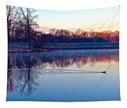 Duck's Sunrise Tapestry