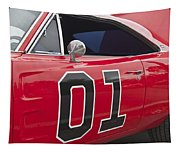 Dukes Of Hazard General Lee Tapestry