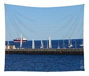 Duluth Mn Harbor Tapestry