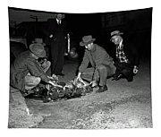 Dumping Whiskey In Mississippi 1951 Tapestry