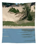 Dunes Of Lake Michigan Tapestry