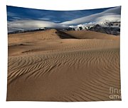 Dunes Ripples And Clouds Tapestry