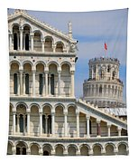 Duomo And Campanile Tapestry
