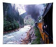 Durango To Silverton Tapestry