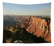 Dusk At The Canyon Tapestry