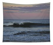 Dusk At The Shore Tapestry