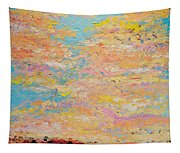 Dusty Sunset Tapestry