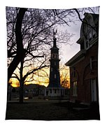 Dwight Windmill At Sunset Tapestry