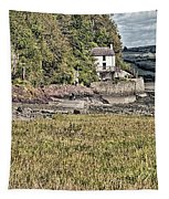 Dylan Thomas Boathouse At Laugharne 2 Tapestry