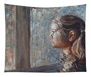 E In Sepia Tone Tapestry