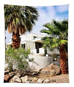 E. Stewart Williams Home Palm Springs Tapestry