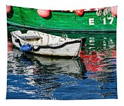 E17 Reflections - Lyme Regis Harbour Tapestry