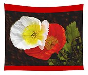 Eager Poppies Tapestry