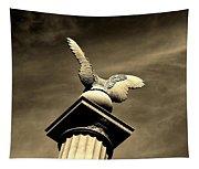 Eagle In Stone Tapestry