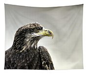 Eagle In The Mist Tapestry