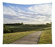 Eagle Knoll Golf Club - Hole Four Tapestry