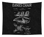 Eames Chair Patent 4 Tapestry