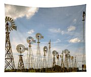 Early Model Wind Farm Tapestry