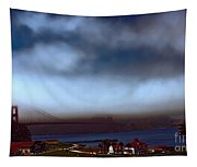 Early Morning At The Golden Gate Tapestry