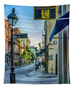 Early Morning In French Quarter Nola Tapestry