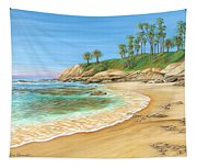 Early Morning Laguna Tapestry