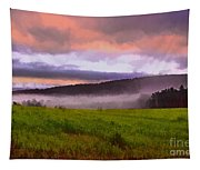 Early Morning Mist Tapestry