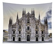 Early Morning On Il Duomo Tapestry