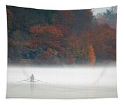 Early Morning Row Tapestry