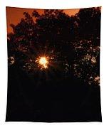 Early Morning Sun Burst Tapestry