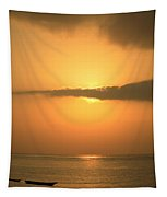 Early Morning Sunrise Tapestry