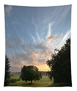 Early Summer Sunrise Tapestry