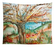 Early Winter Tree Tapestry