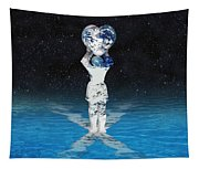 Earth Heart Holder Tapestry
