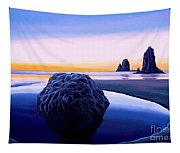 Earth Sunrise Tapestry