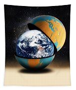 Earths Protective Cover Tapestry