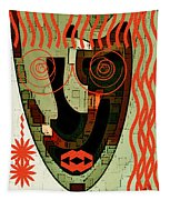 Earthy Woman Tapestry